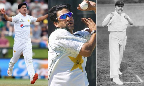 A short history of cricket hat-tricks: from Sheffield's hills to Naseem Shah