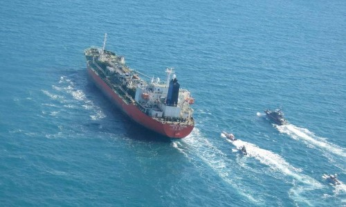 Iran seizes South Korean tanker as tensions with US mount