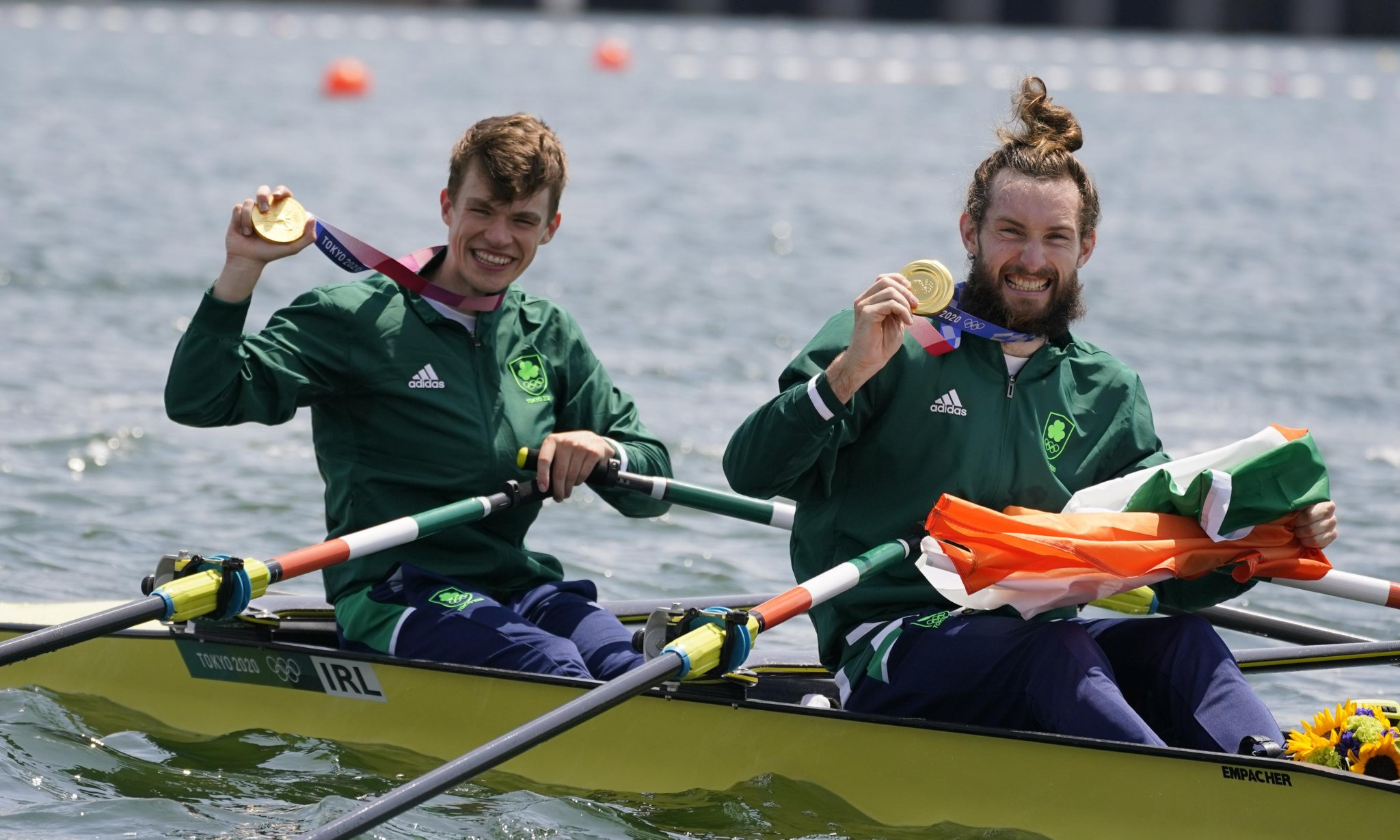 Paul O'Donovan and Fintan McCarthy win Ireland's first Olympic rowing gold