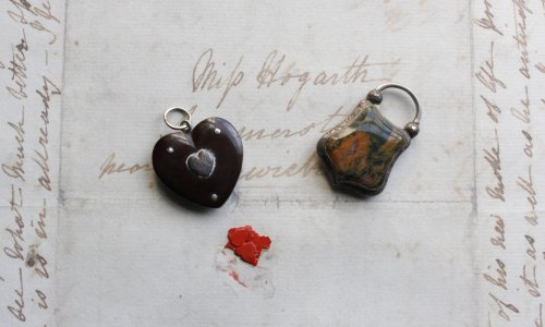 Unseen lockets reveal grief that haunted Charles Dickens's writing