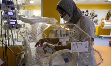 Malian woman gives birth to nine babies
