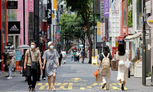 Send Tory ministers to Seoul to learn about mask-wearing
