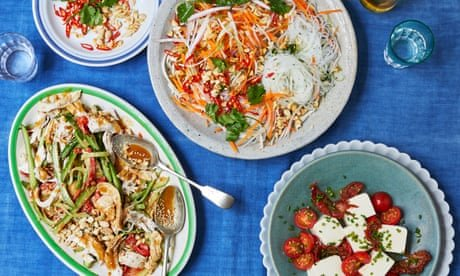 Chicken, tofu and noodles: Chi San's Chinese-Vietnamese salads