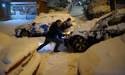 At least three people die in Spain's worst snowstorm in 50 years