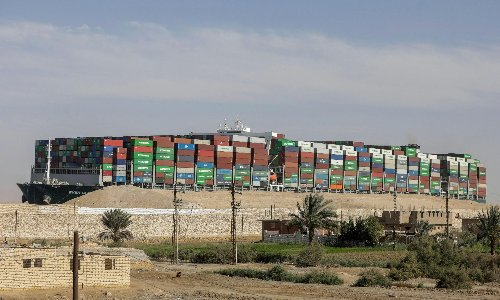 Ever Given impounded as Suez Canal Authority pursues salvage costs