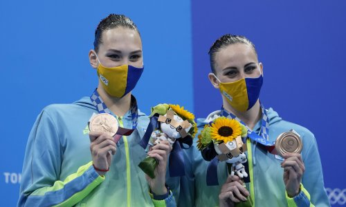 Olympic organisers red faced after announcing Ukraine medallists were from ROC