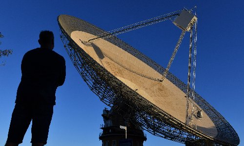 The Dish runs back to the moon: Parkes telescope to support commercial lunar landings
