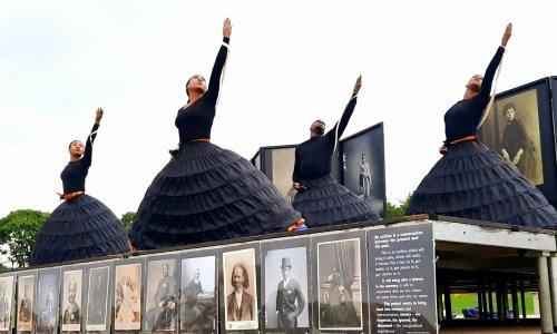 Black Victorians review – bodiced bodies break free of restraints