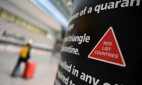 Ministers to cut 'red list' countries by up to half to simplify England's travel rules