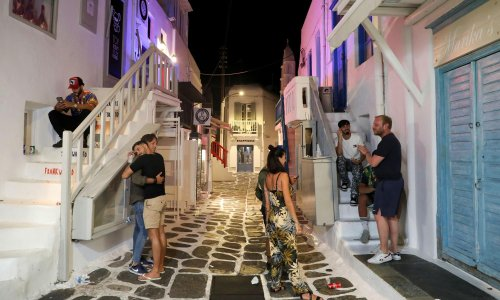 Greece sends police to Covid hotspot islands to step up controls