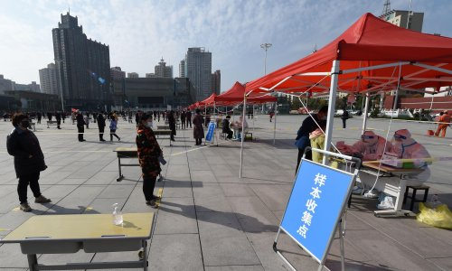 China locks down city of 4m people after six Covid cases detected