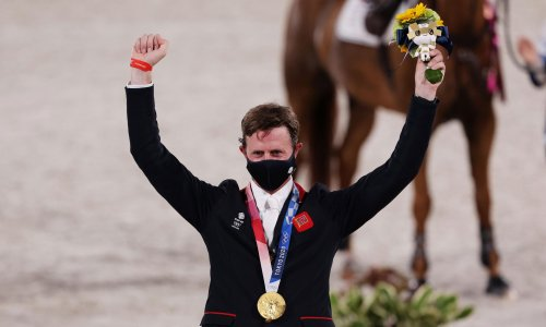 Team GB's Ben Maher soars to Olympic showjumping gold