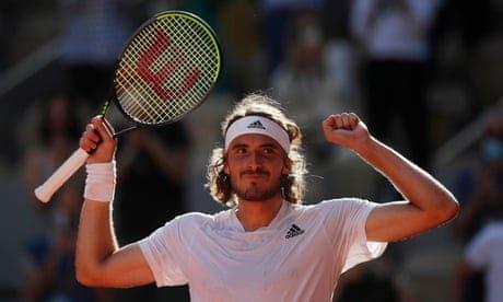 Tsitsipas beats Zverev to reach French Open final – as it happened