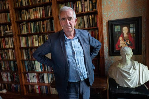 Robert Harris: 'My method is usually to start a book on 15 January and finish it on 15 June'