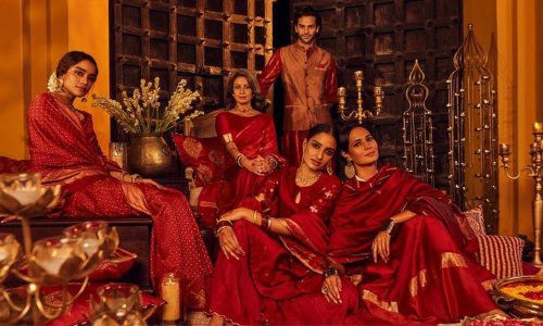 'Dictating what is Indian': backlash over Urdu phrase in fashion advert