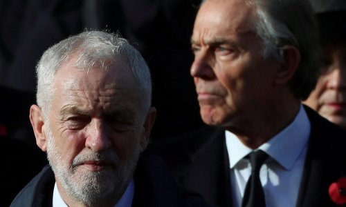 Blair and Corbyn weigh in on Keir Starmer's election troubles
