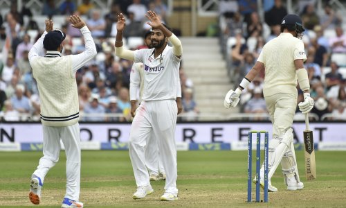 Dismal England collapse on opening day as Bumrah and India find their groove