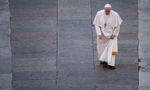Francesco review – a baffling papal love-in