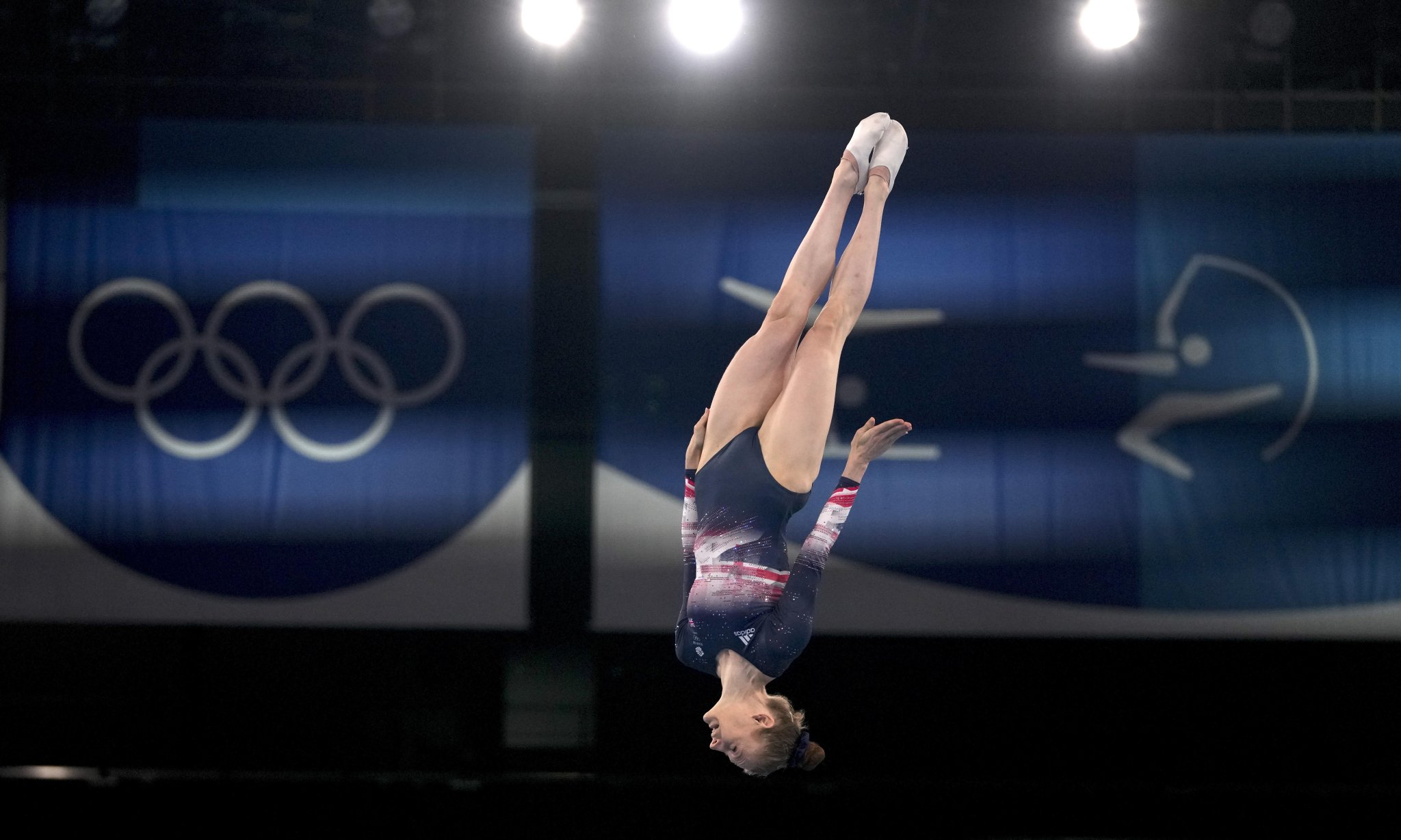 Team GB's Bryony Page bounces her way to bronze in Olympic trampolining