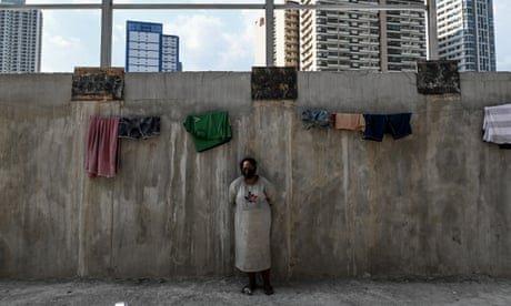 Manila's newly homeless tell of survival in lockdown – photo essay