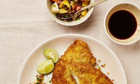Schnitzel, salad and cream cake: Yotam Ottolenghi's peach recipes
