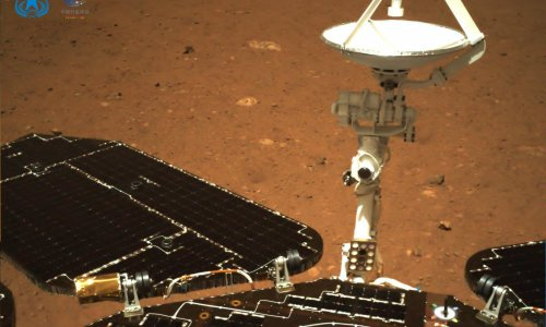 China's Mars rover drives across planet a week after landing