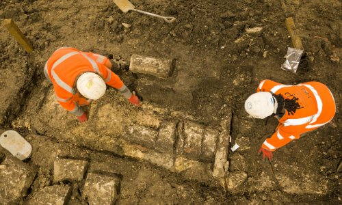'Unique opportunity': HS2 unearths history of medieval church
