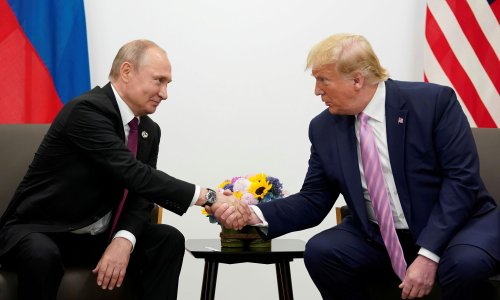 New book says Trump told Putin: I'll act tough with you – for the cameras