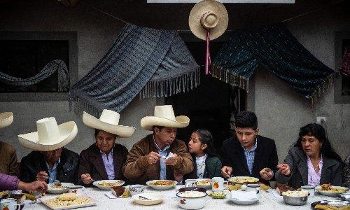 Leftist teacher holds razor-thin lead in Peru presidential election