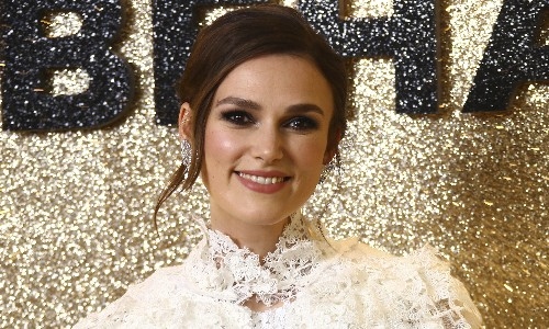 Keira Knightley: I won't shoot any more sex scenes directed by men