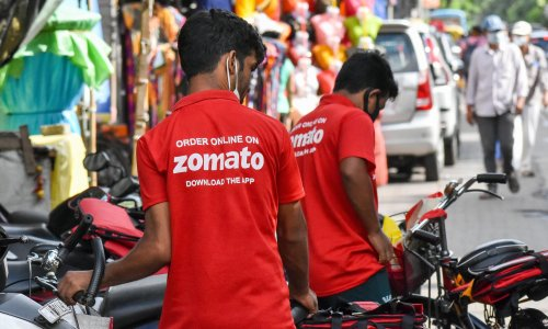 Shares in Indian food startup Zomato jump 80% on IPO