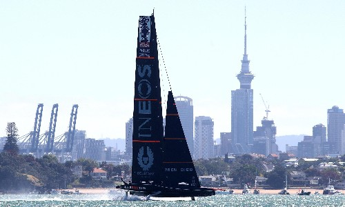 Ben Ainslie's crew rise from the deep to keep America's Cup dream alive