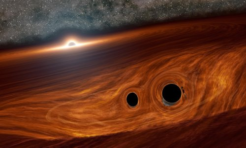 Black holes may merge with light of a trillion suns, scientists say