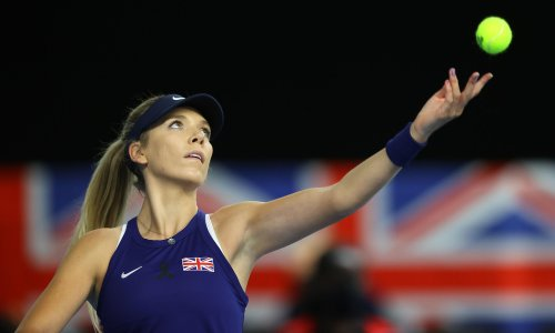 Katie Boulter seals BJK Cup win for Britain over Mexico after Watson defeat