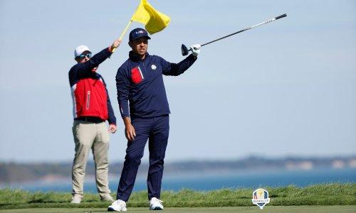 US Ryder Cup debutants sweep away deadwood of doomed Tiger-Phil era