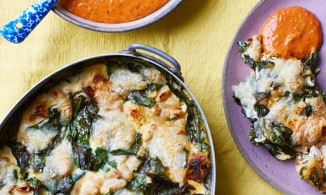 Baked eggs and curry leaf salad: Nik Sharma's recipes for eggs