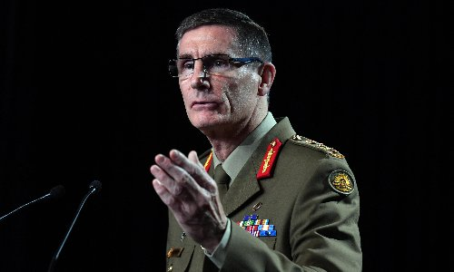 Australian defence chief says war between China and Taiwan would be 'disastrous'