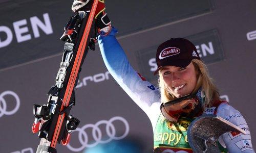 Mikaela Shiffrin bags Soelden giant to join 70-win club in Olympic season opener