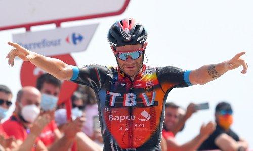 Damiano Caruso shines in mountains as Primoz Roglic extends Vuelta lead