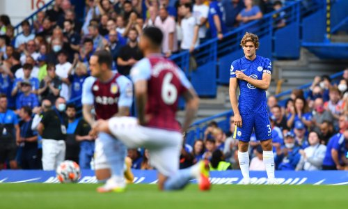 Taking the knee 'losing a bit of strength', says Chelsea's Marcos Alonso