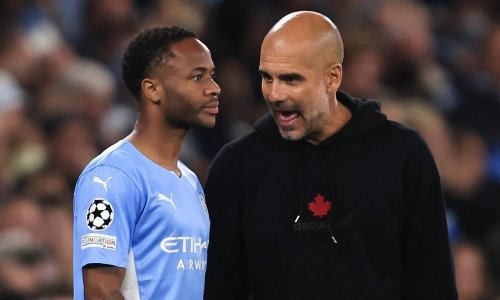 Manchester City's Raheem Sterling free to leave if he wants, says Guardiola