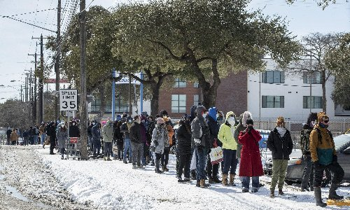 Anger mounts over Texas power blackouts as cold maintains its grip
