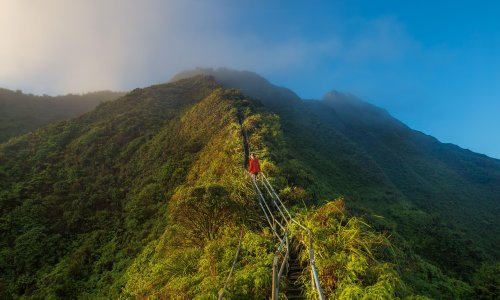 Hawaii to remove forbidden staircase due to 'rampant trespassing'