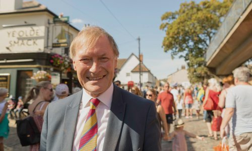 My friend David Amess connected with everyone. We must not hide away