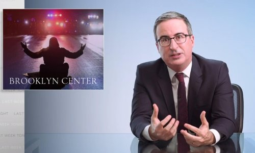 John Oliver to 'white America': 'March in the streets and demand a better country'
