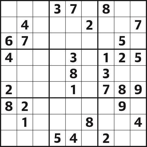 Sudoku 5,154 easy