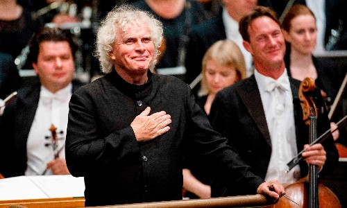 Simon Rattle is leaving London. Is this a taste of the capital's future?
