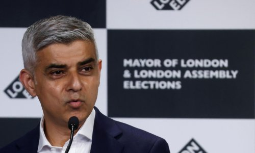 Sadiq Khan reelected as London mayor after rival runs him close