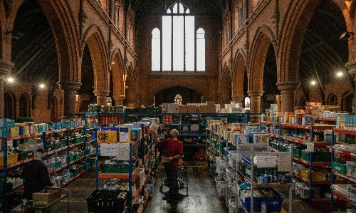 The Conservatives think the Church of England can fill all welfare gaps. We can't