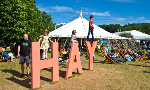 Hay festival in disarray as director quits after bullying claim upheld